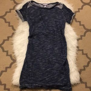 Maternity casual shirt dress